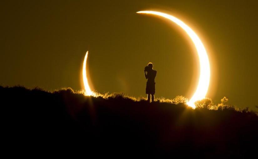 Слънчево затъмнение + новолуние!
