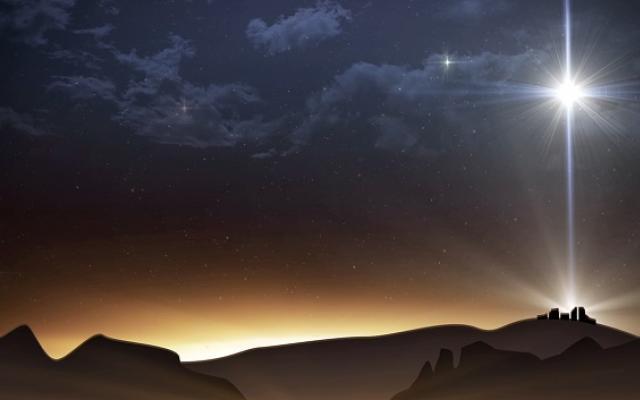 Витлеемската звезда изгрява на небето