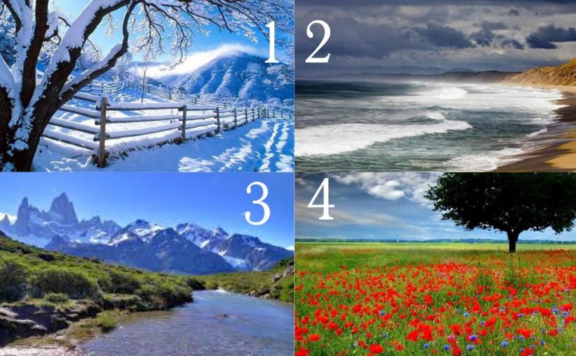 Пейзаж разкриващ твоя характер