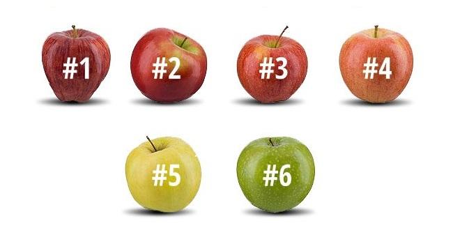 Коя ябълка би изял веднага?