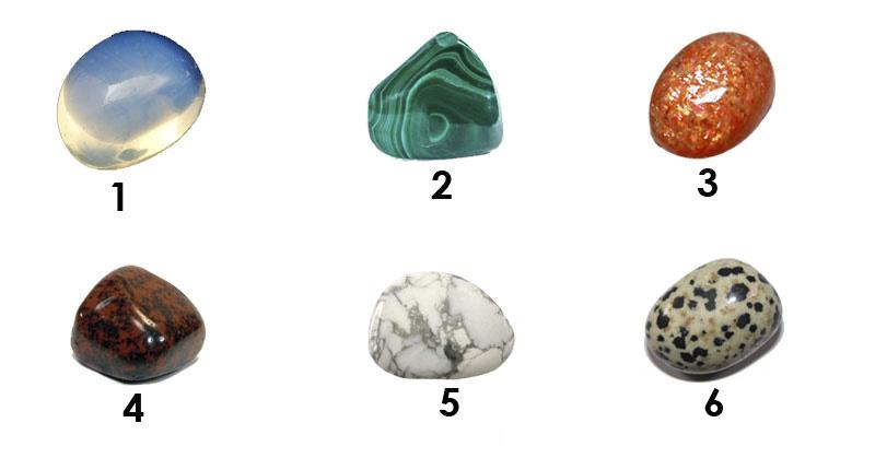 Изберете камък и вижте какво разкрива за Вас!